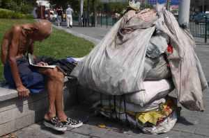 Rubbish collector & Intellectual Central Shanghai