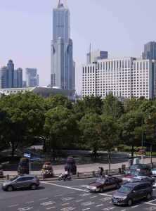 Green space central Shanghai