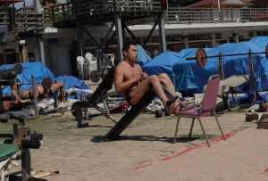 Bathing Beach No 1 Exercise area