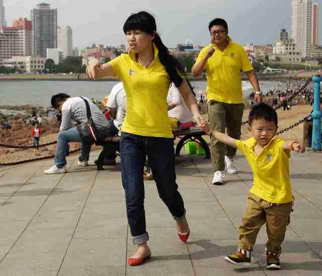 Qingdao seafront