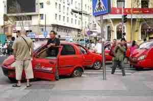 Three wheel Taxi
