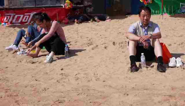 Beach scene Qingdao