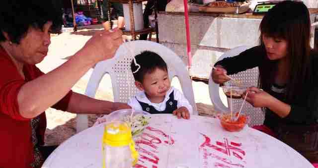 Beach snack for junior Qingdao