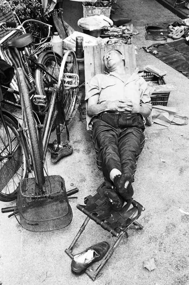 Bicycle repair boy