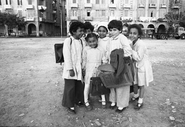 Schoolchildren Alexandria