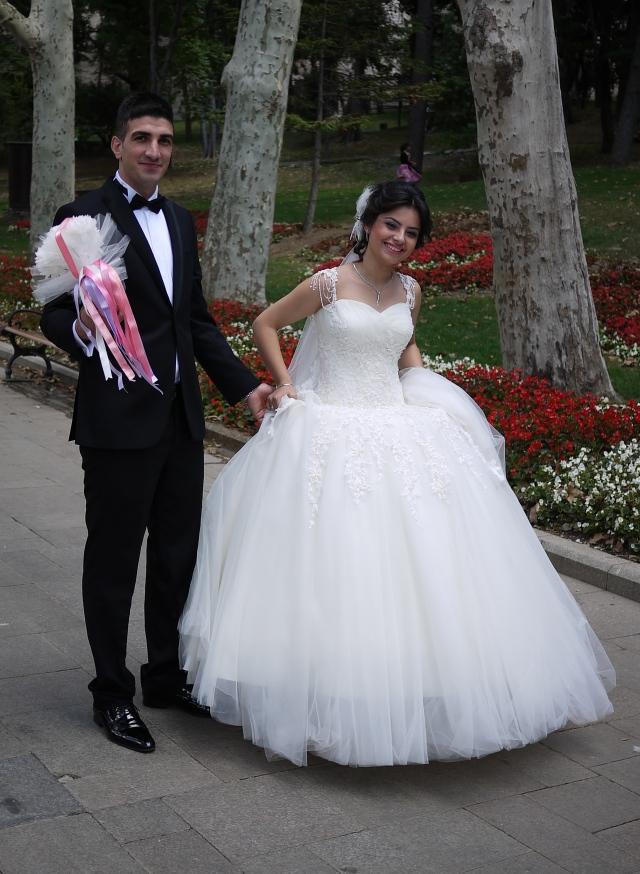 Wedding snaps in Gulhane Park