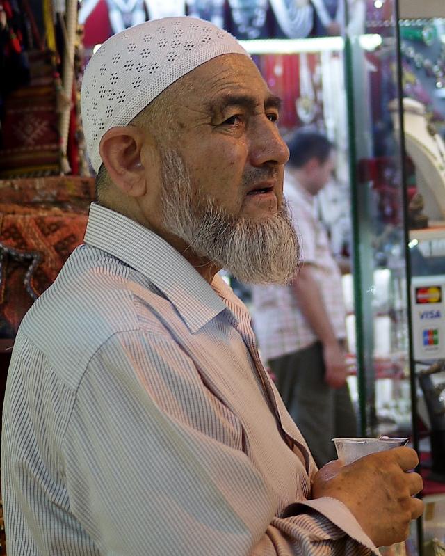 Merchant in the Bazaar