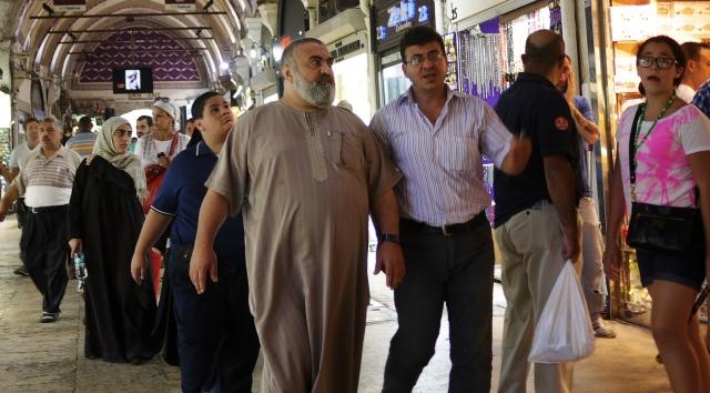 An Arabian in the Bazaar