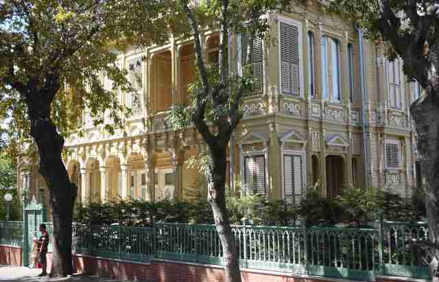 The palace next to Trotsky's .. the most beautiful wooden palace on Büyükada
