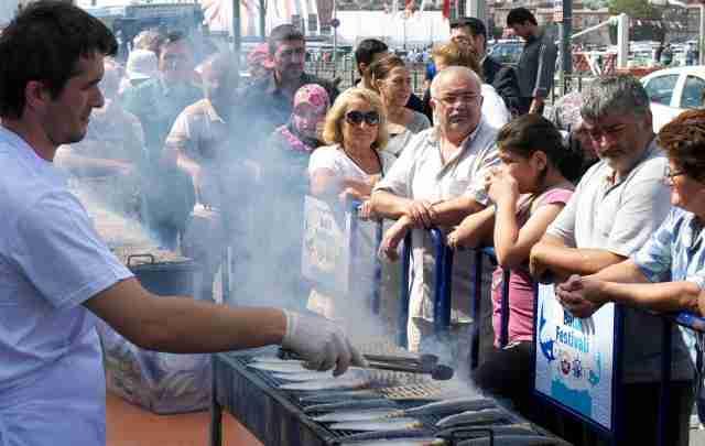 The Fatih fish festival