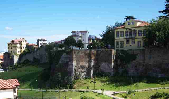 Walls of the old castle