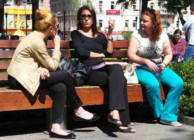 Cool Traban girls..