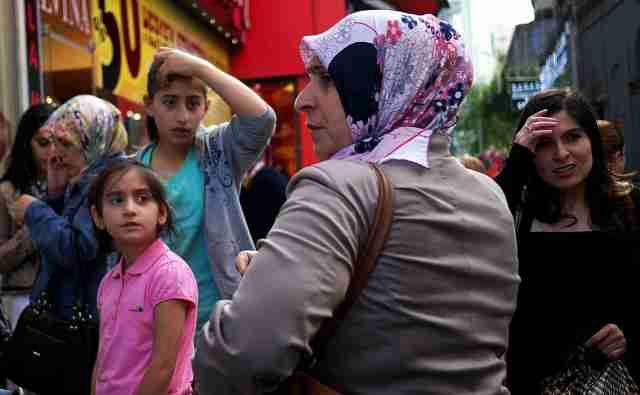 Street scene Trabzon