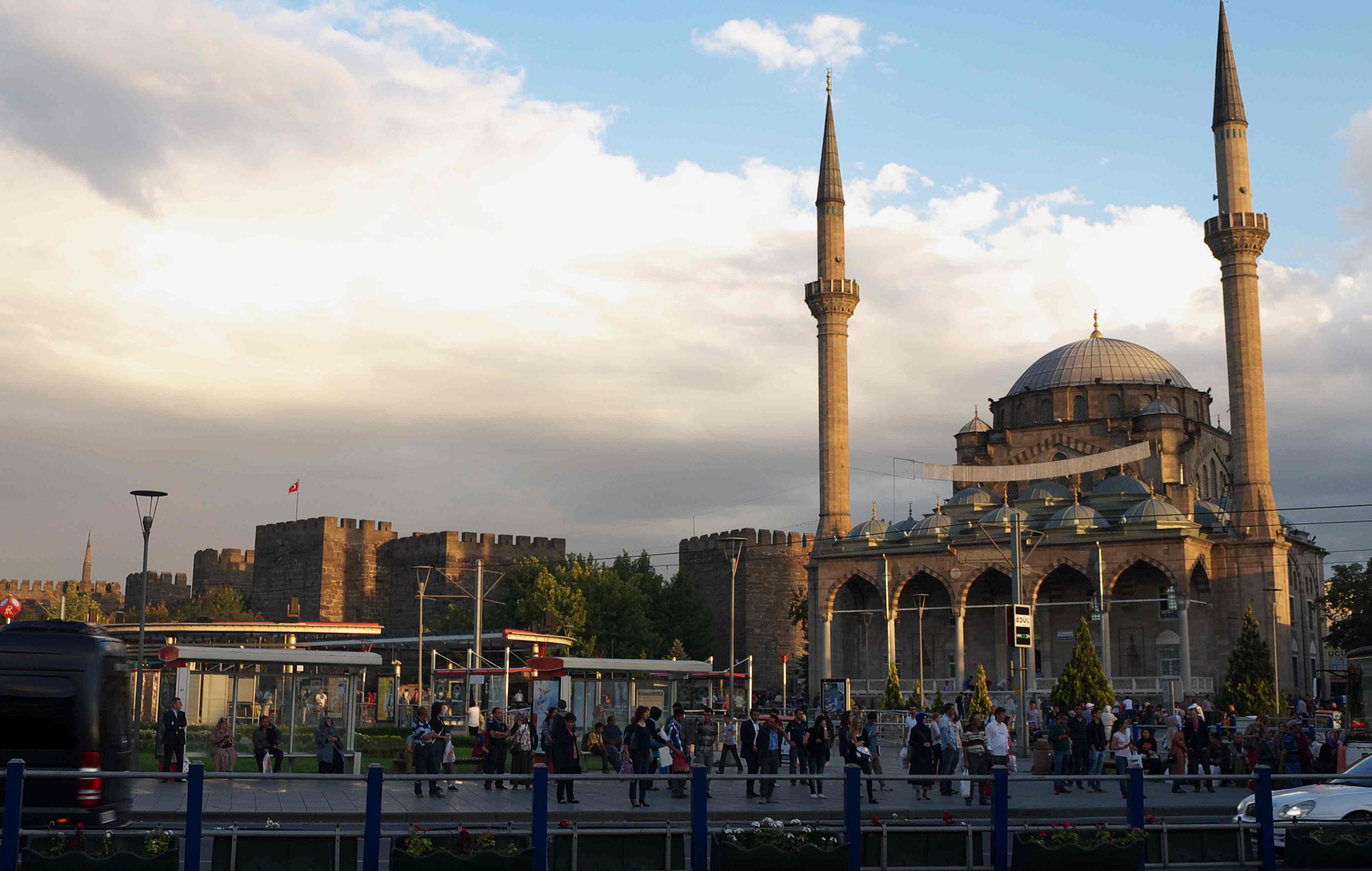KAYSERI the Citadel and Fatih mosque KAYSERI