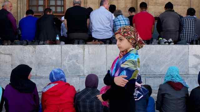 Friday Prayers at Selimiye Mosque