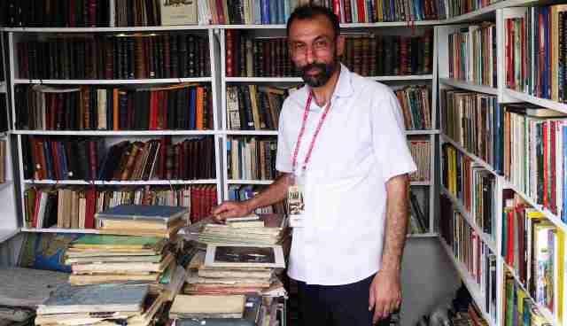 At the Beyoglu bookfair