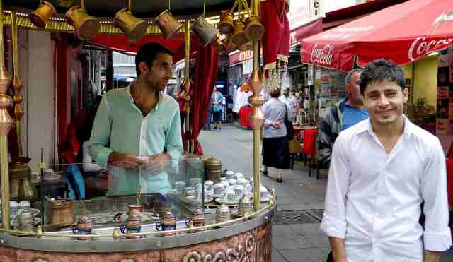 Real turkish coffee