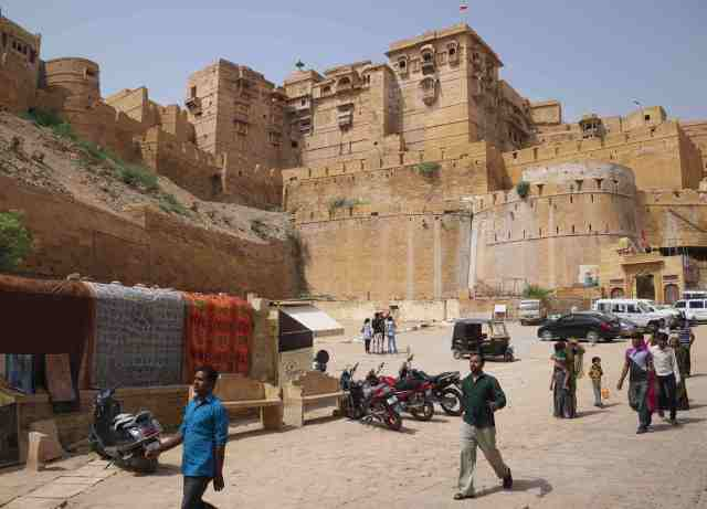 the fort Jaisalmer