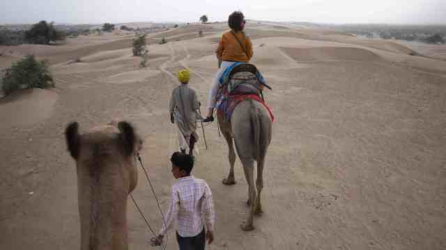 Heading into the Thar Desert