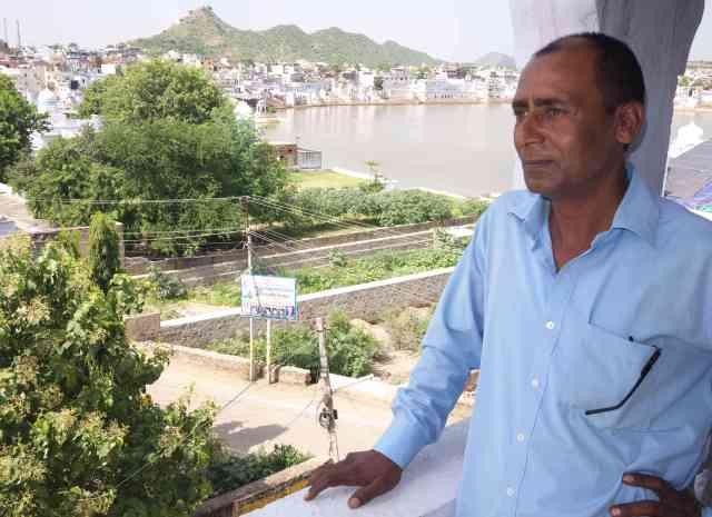 Rajesh at Pushkar