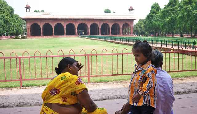 Family Red Fort