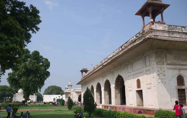Marble Pavilions Red Fort