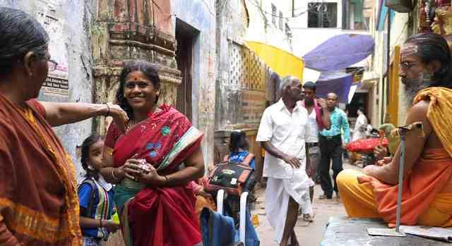 In the old city Varanasi