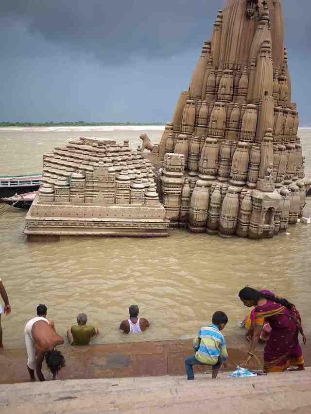 The sunken temple