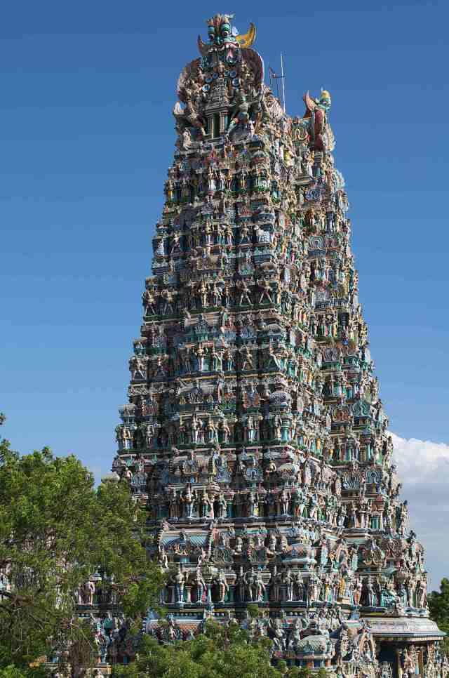 The Temple at Madurai tower