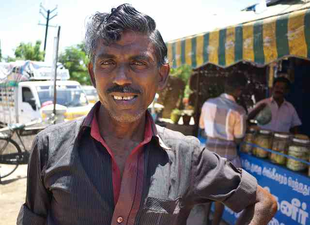 My cyckle rickshaw driver