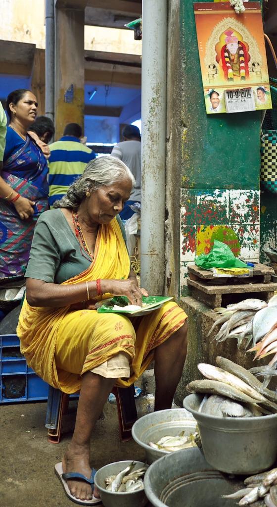 The fish market Pondicerry