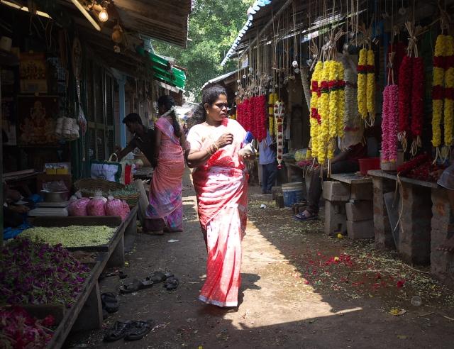 The market Pondicherry