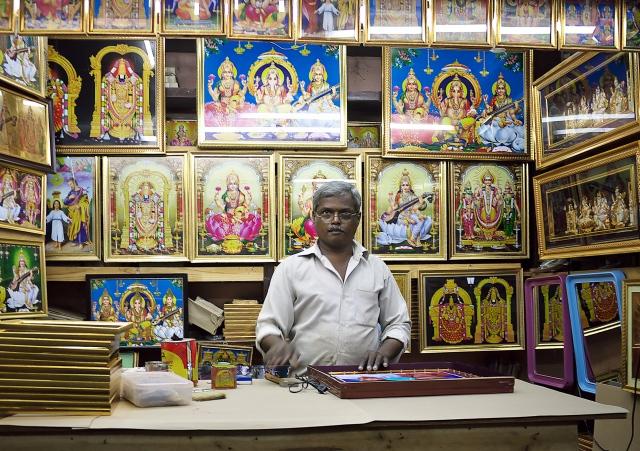 In the market many gods