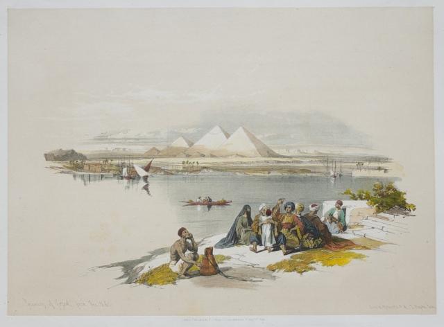 Pyramids at Giza ..David Roberts
