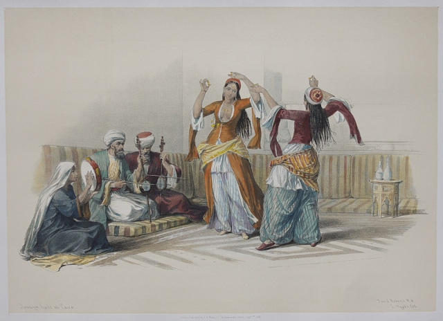 Cairo Dancing girls