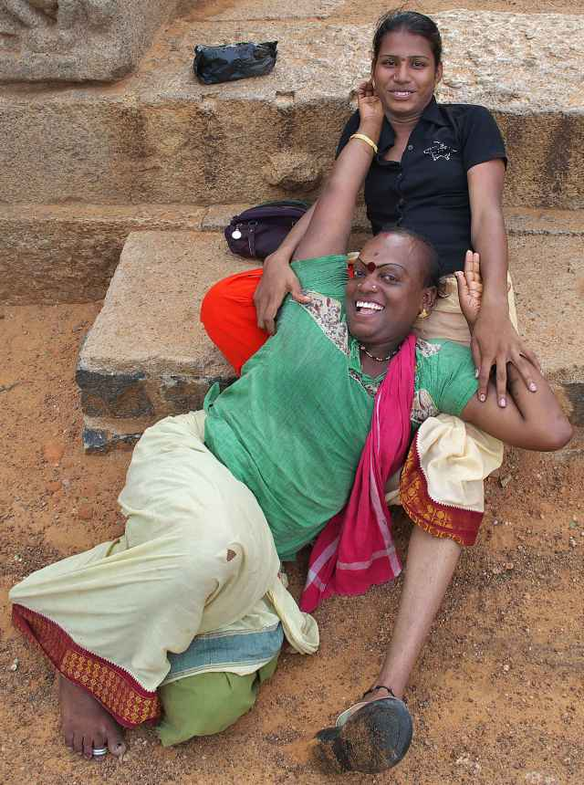 Lady boys Mamallapuram