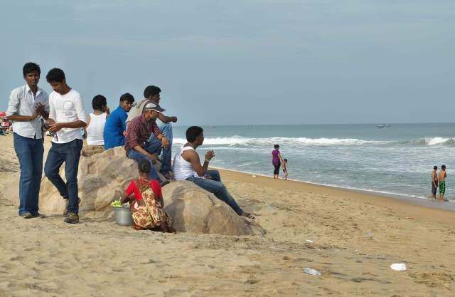 Mamallapurum Beach