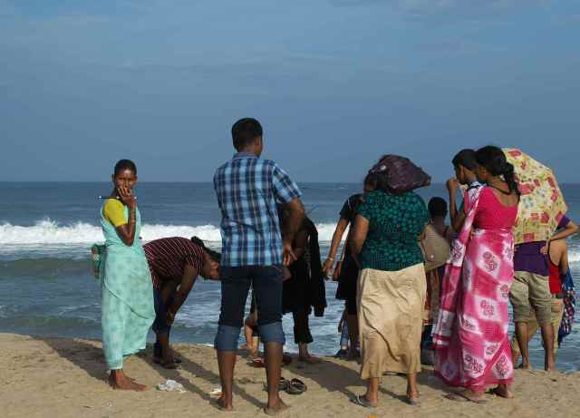 Mamallapuram ..Indian tourists