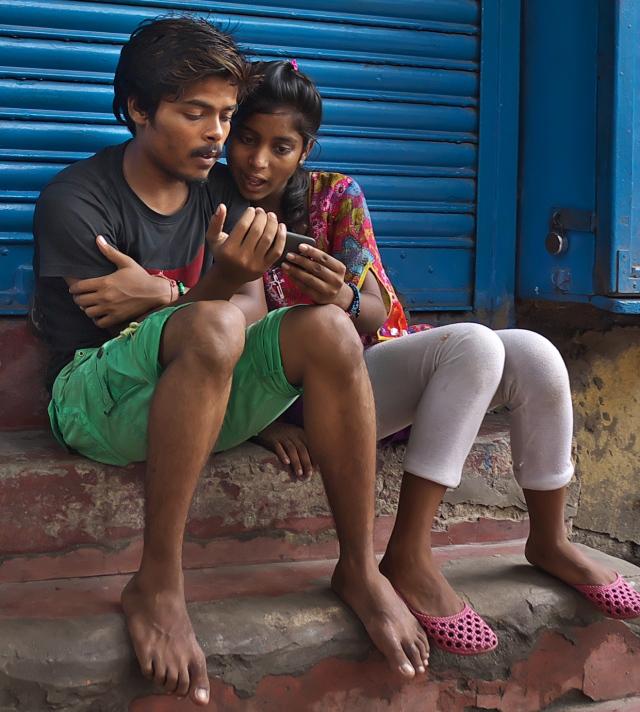 Young Kolkatans.