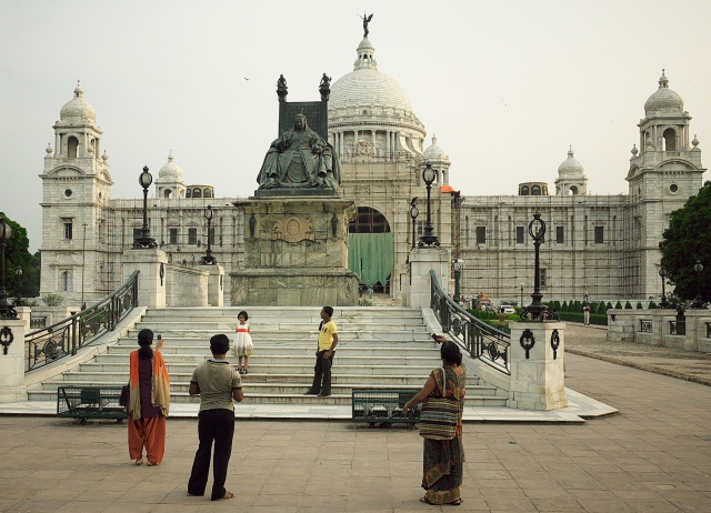 Victoria Memorial.. Forever a reminder to Calcutta of the Raj