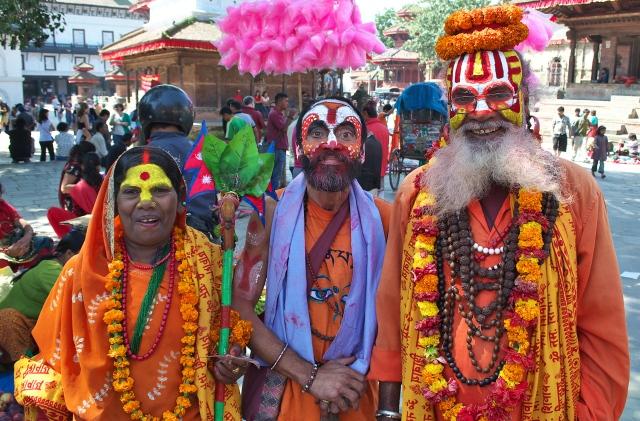 Nepal  Kathmandu  Dashain Festival